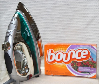 Gunked Up Iron? Try Dryer Sheets